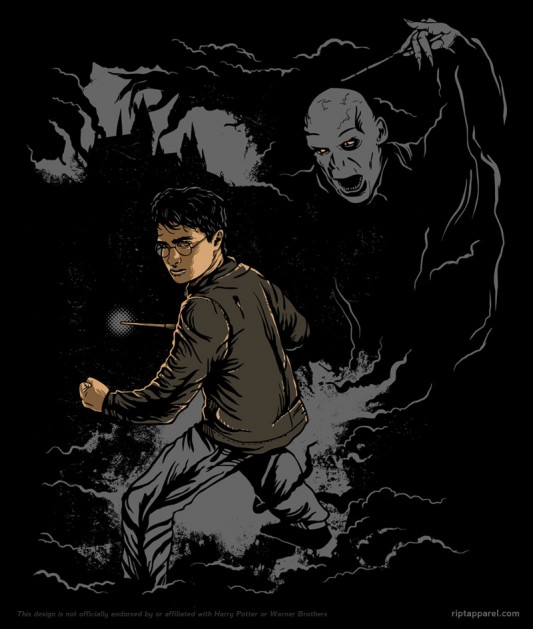 Harry Potter - Behind You shirt