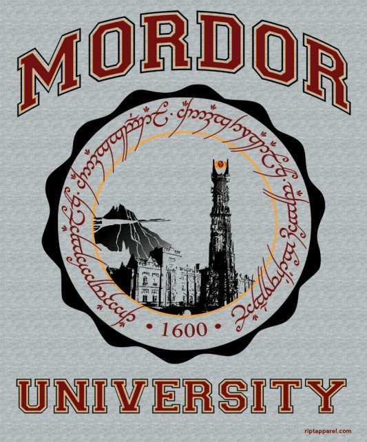 Lord Of The Rings - Mordor University