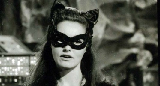 Either way Catwoman or Selina Kyle the goggle/mask combo pays tribute to the first on-screen Catwomen Julie Newmar Ertha Kitt and Lee Meriwether from ...  sc 1 st  Geeks of Doom & Bat-Analysis: The Costume Of Catwoman In u0027The Dark Knight Risesu0027
