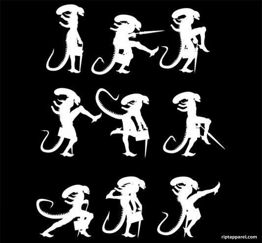 Alien - Monty Python - Ministry of Alien Silly Walks