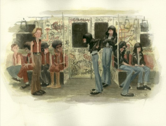 The Ramones Meet The Warriors