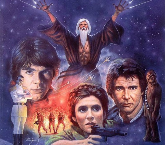 Original Cover Art for Heir To The Empire - Star Wars