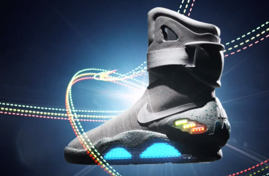 Back to the Future II Nike MAG