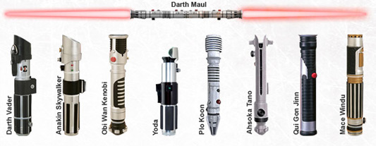 Star Wars - Lightsabers