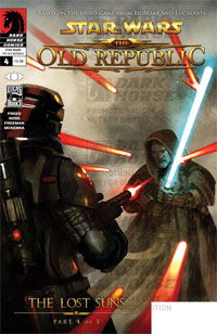 Dark Horse Comics: Star Wars: The Old Republic #4