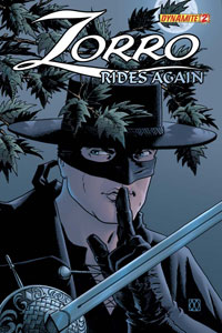 Dynamite Entertainment: Zorro Rides Again #2