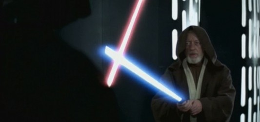Star Wars Lightsaber Fight