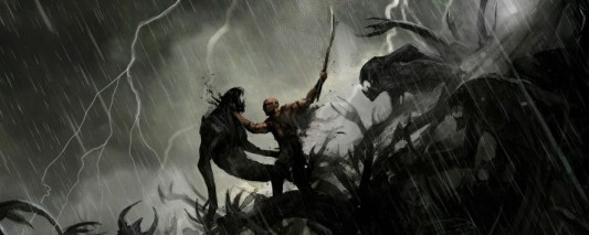Concept art from Riddick