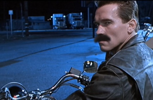 Tom Selleck's Mustache, Terminator 2