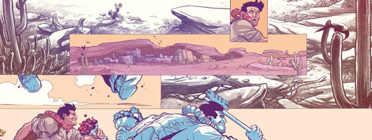 Archaia Comics: Jim Henson Tale of Sand preview image
