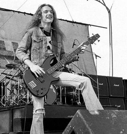 Metallica's Cliff Burton: 25th Anniversary Of Bassist's Death