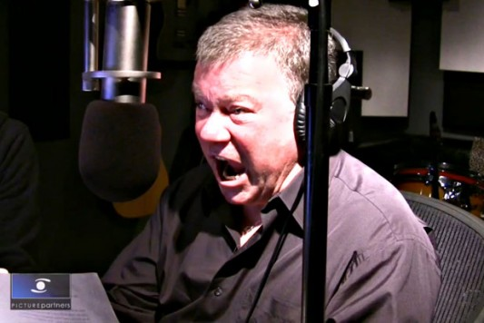 "William Shatner singing ""Iron Man"""