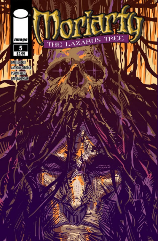 Moriarty 5 Cover