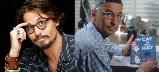 Johnny Depp & Dr. Seuss