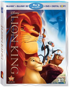 The Lion King 4–Disc Blu–ray