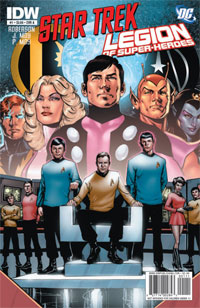 IDW Publishing: Star Trek–Legion of Super-Heroes #1