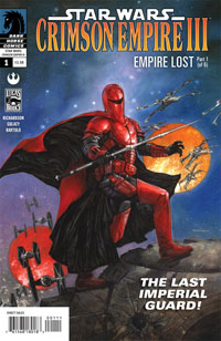 Star Wars: Crimson Empire III-Empire Lost #1 cover