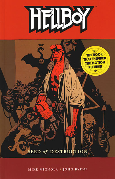 Hellboy Vol. 1: Seed of Destruction TPB