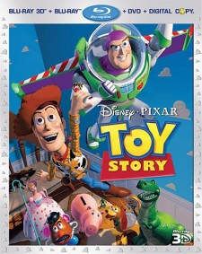 Toy Story Blu-ray 3D Four-Disc Combo