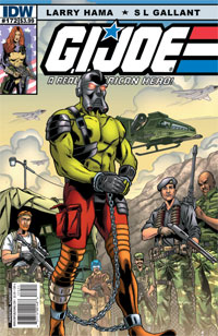 G.I. Joe A Real American Hero #172 cover