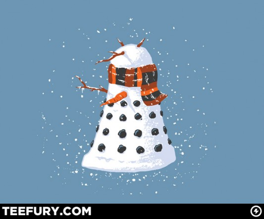 Doctor Who Snow-Lek