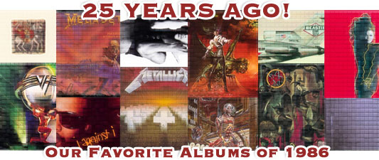 25 Years Ago! Our Favorite Albums Of 1986