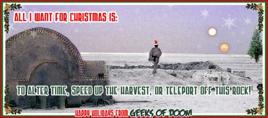 Happy Holidays from Geeks of Doom 2011