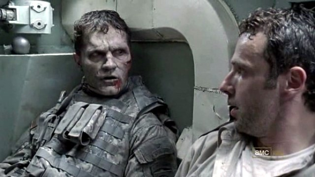 Sam Witwer in The Walking Dead