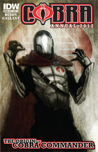 Cobra Annual 2012: Origin Of Cobra Commander