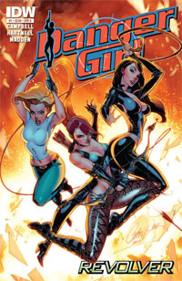 Danger Girl: Revolver #1