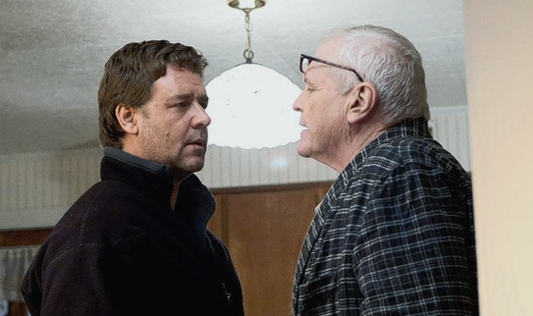 Russell Crowe and Brian Dennehy