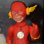 NYC 2012 Toy Fair: Just-Us League of Stupid Heroes, Series 2: Alfred as The Flash