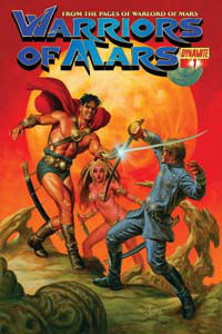 Warriors of Mars Cover