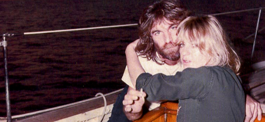 Christine McVie and Dennis Wilson