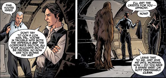 Comic Review: Star Wars: Agent Of The Empire: Iron Eclipse #3