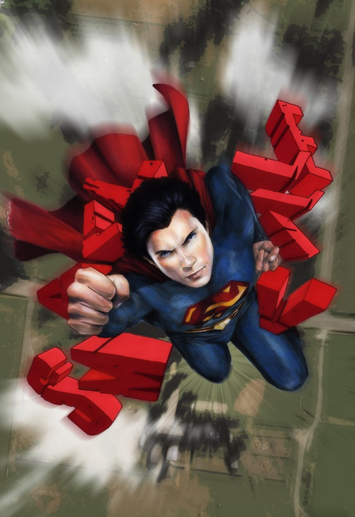 Smallville Season 11 Cover by Cat Staggs