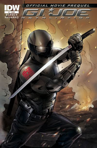 G.I. Joe: Retaliation #1: Official Movie Prequel
