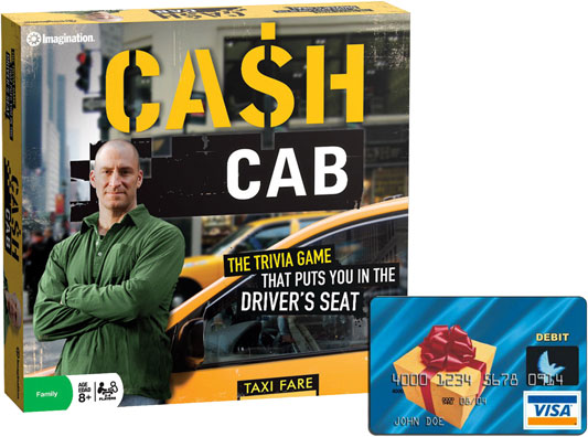Cash Cab prizing