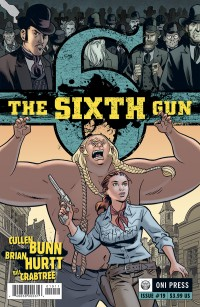 The Sixth Gun #19 by Brian Hurtt