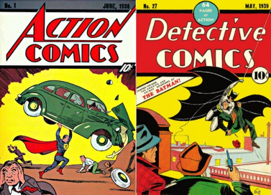 Action Comics No. 1 & Detective Comics No. 27