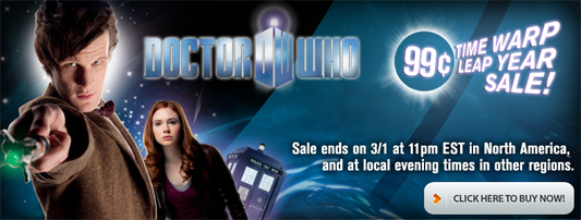 Geek Deal: 'Doctor Who' 99 Cent Sale at ComiXology