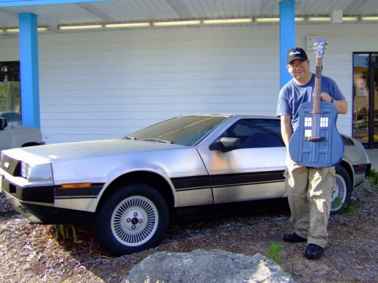 Dueling Time Machines: The GuiTARdis and the DeLorean