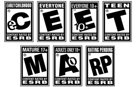 Video game mature rating