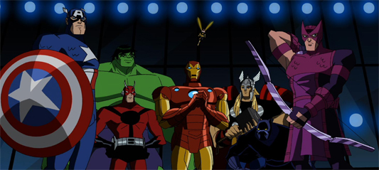 Netflix Review: The Avengers – Earth's Mightiest Heroes (Animated Series: Season 1)