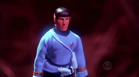 Tiny Spock Big Bang Theory