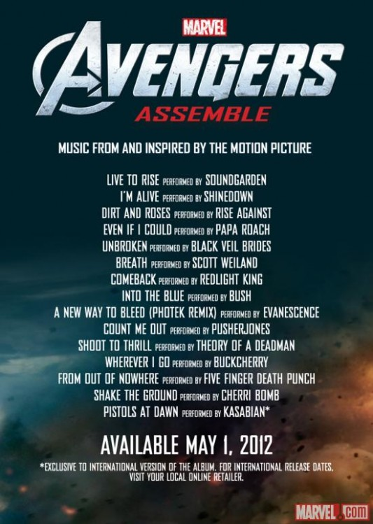 Preview The New Soundgarden Song For The Avengers