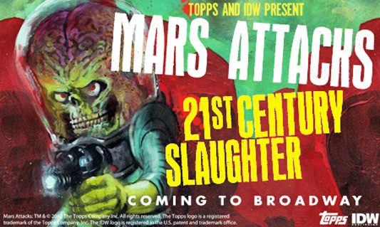 Mars Attacks: 21st Century Slaughter
