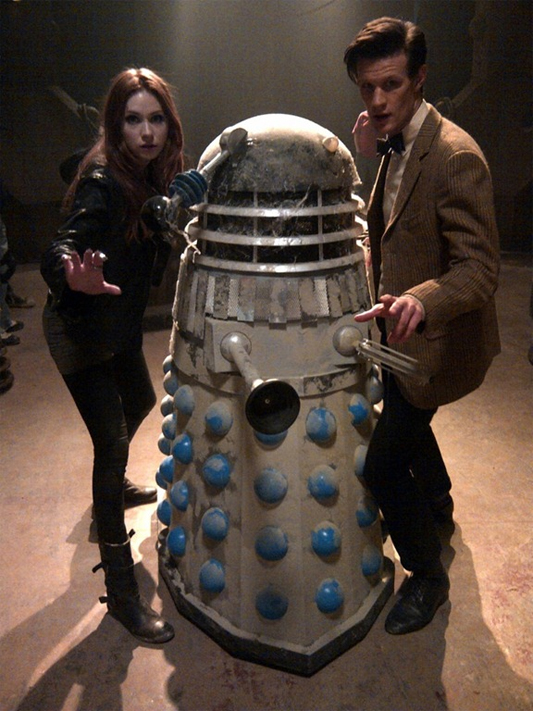 The Daleks Return To Doctor Who.  Which Ones?  ALL OF THEM!