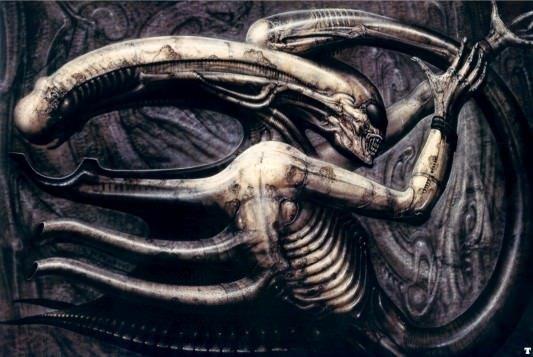 Prometheus - Alien Concept Art