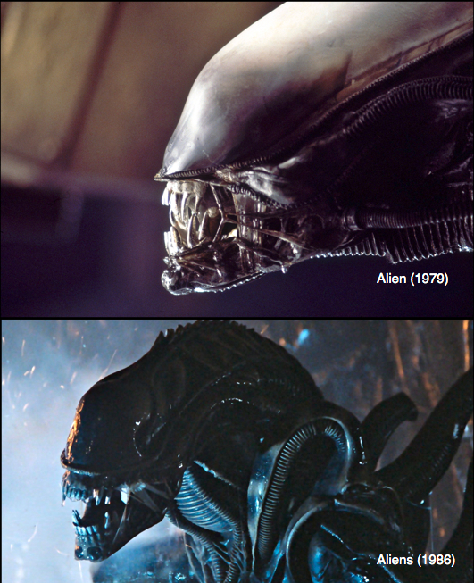 Big Things Have Small Beginnings: Ridley Scott's ...Xenomorph Queen Prometheus